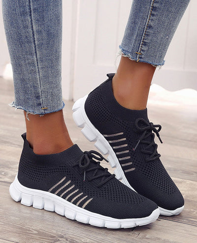 Breathable Mesh Casual Sneakers-2