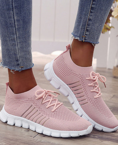 Breathable Mesh Casual Sneakers-3