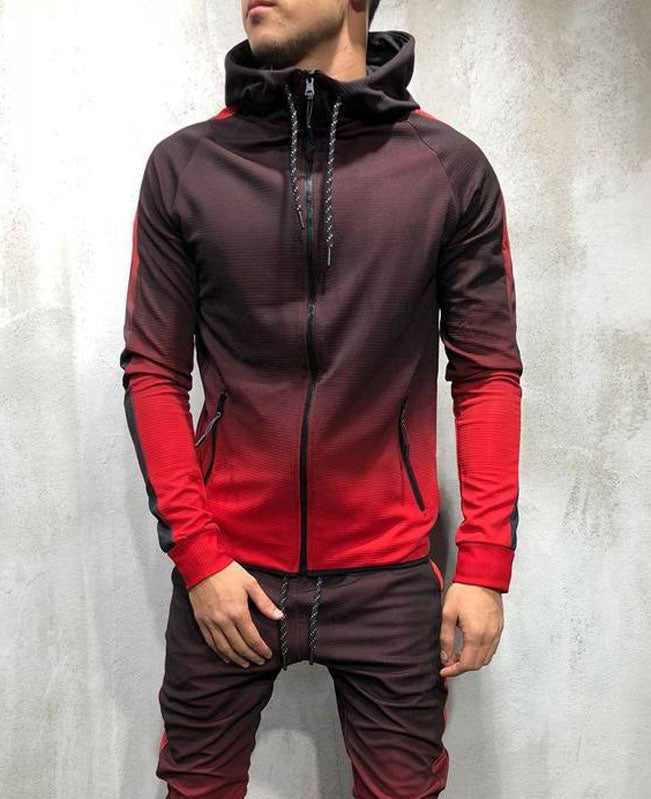 Gradual Change Mens Hoodies Sale