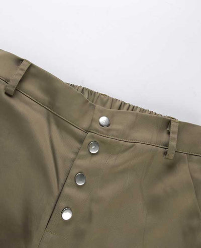 Loose Military Cargo Pants