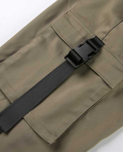 Loose Military Cargo Pants-10