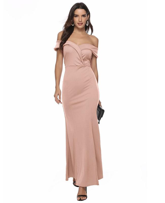 Off the Shoulder Formal Dresses for Women-1