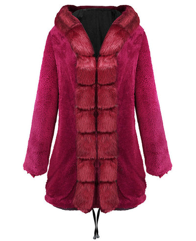 Parka Jacket Women Winter Coats-12