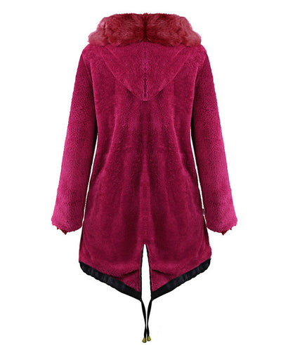 Parka Jacket Women Winter Coats-9
