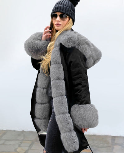 Parka Jacket Women Winter Coats-7