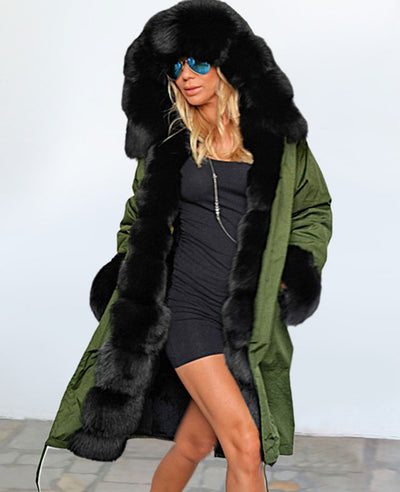 Parka Jacket Women Winter Coats-5
