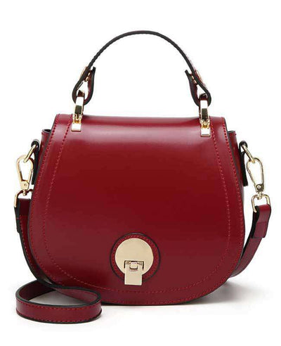Women Pu Leather Handbag-6