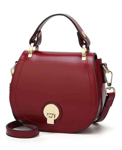 Women Pu Leather Handbag-1