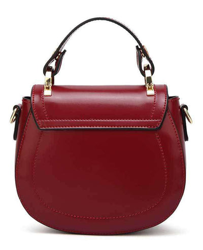 Women Pu Leather Handbag-7