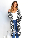 womens casual long sleeve cardigan sweater
