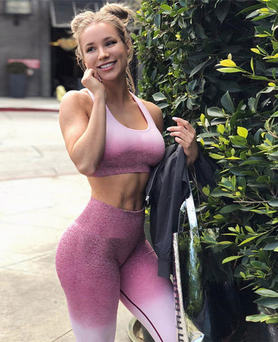 Womens Gym 2 Piece Outfits-1