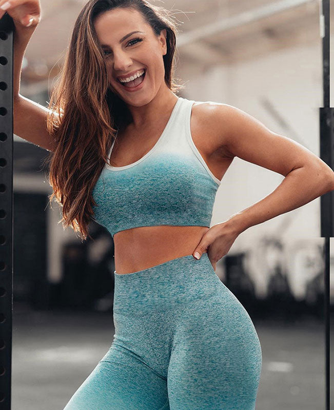 Womens Gym 2 Piece Outfits