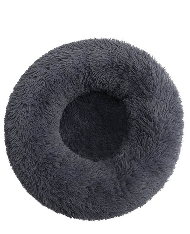 Soft Comfy Calming Dog Bed Donut Pet Bed