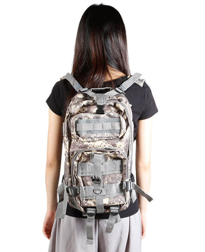 Tactical Backpack Military Army Camping Rucksack
