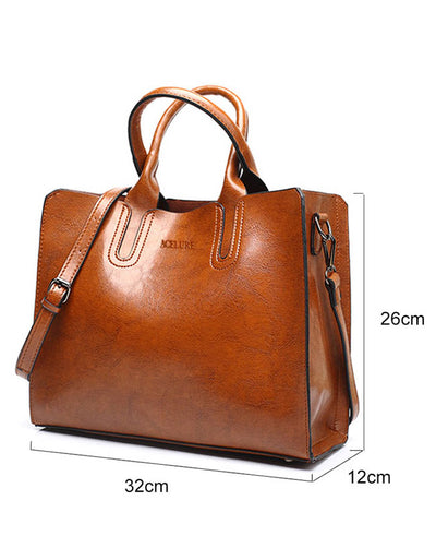 Tote Faux Leather Handbags
