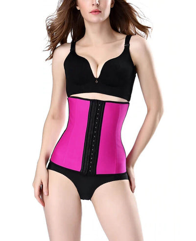 Waist Training Steel Boned Corset-6