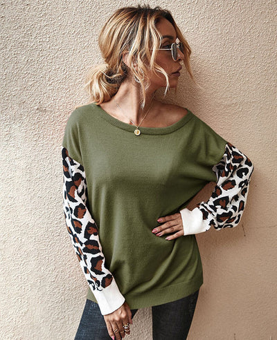 long sleeve sweater for autumn and winter