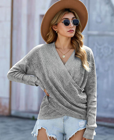 gray sweater for women