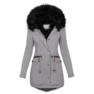 womens winter coats with fur hoods