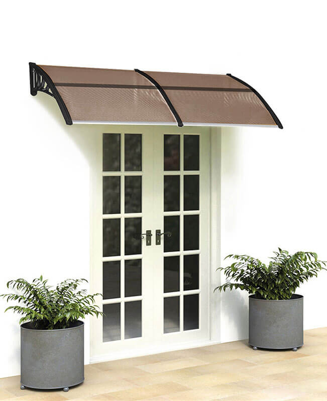 Residential Metal Awnings Window Canopy 40x80""
