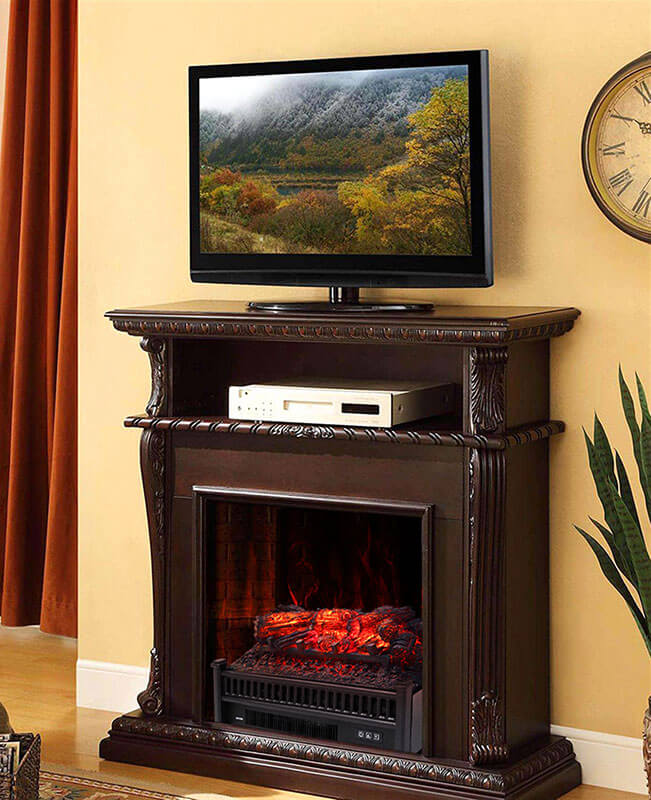 Electric Fireplace Inserts Fake Fireplaces Heaters
