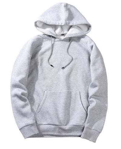 Casual Solid Hip Pop Streetwear Hoodies