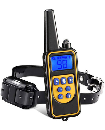 Dog Shock Collar With Remote Electric Training Dog Collar
