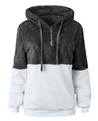 Hooded Fleece Hoodie Women's-6