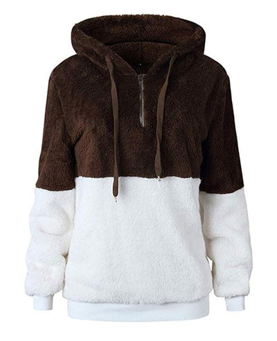 Hooded Fleece Hoodie Women's-7