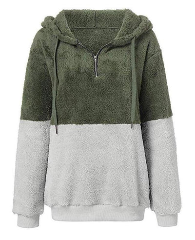 Hooded Fleece Hoodie Women's-8