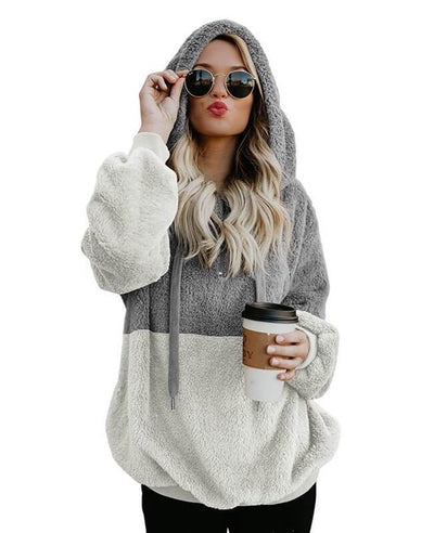 Hooded Fleece Hoodie Women's-3