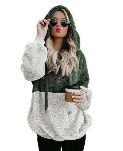 Hooded Fleece Hoodie Women's-2