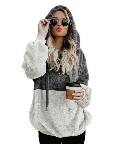 Hooded Fleece Hoodie Women's-1