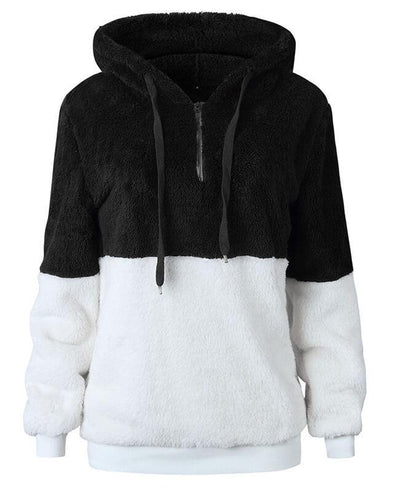Hooded Fleece Hoodie Women's-9