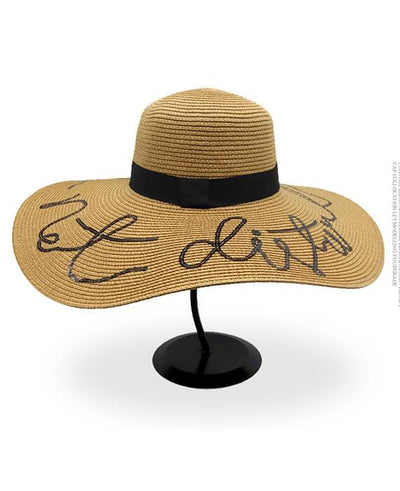 Beach Vacation Letter Wide Brim Sun Hats