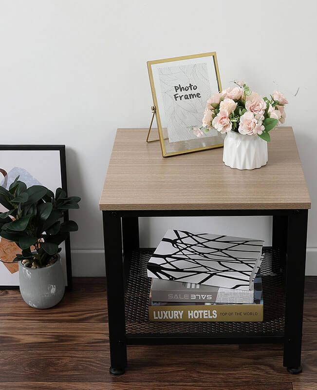 End Tables For Living Room Side Table With Storage