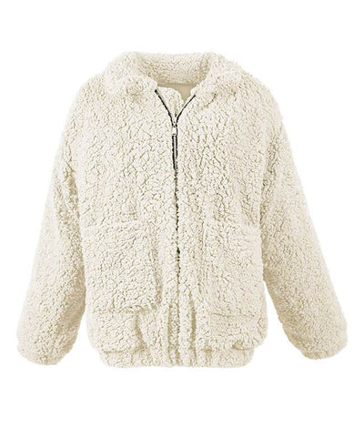 Furry Teddy Bear Coat-6