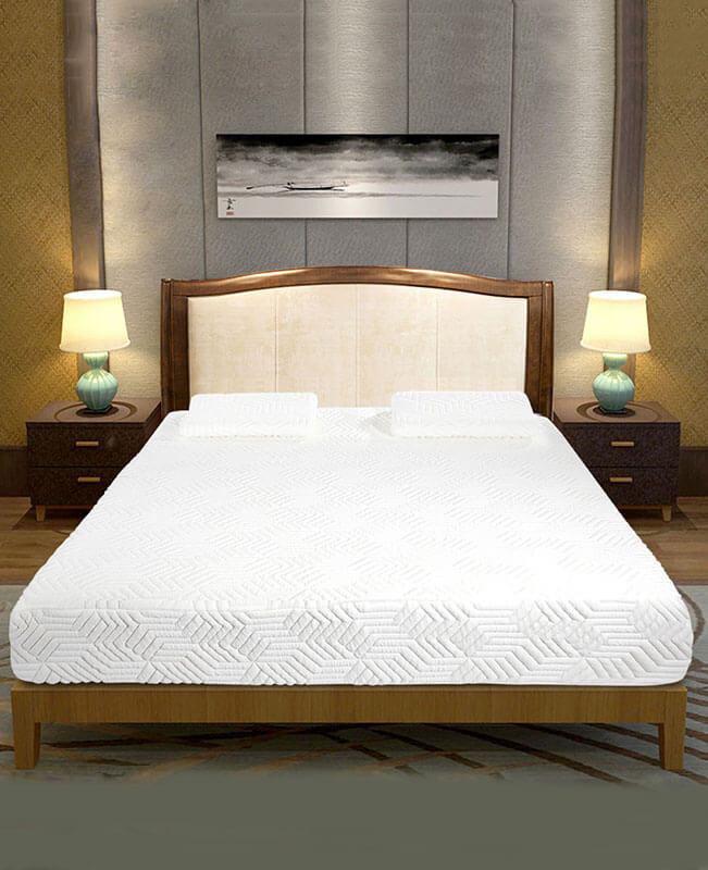 Full Size Mattress 8 Inch Memory Foam Three Layers Medium Firm