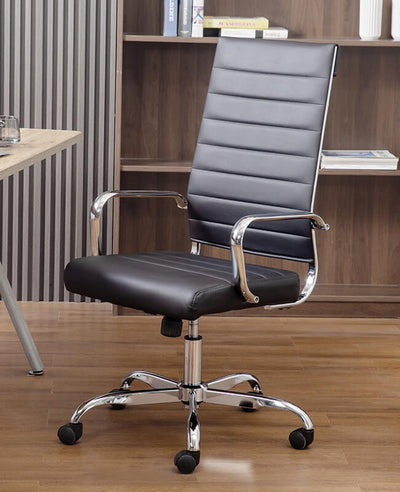Home Office Chair Leather High Back Chair
