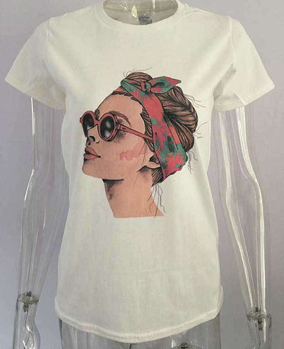 Cool Print Casual T-shirt-4