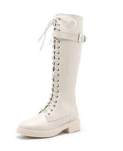 Lace Up Ridding Boots for Women-9