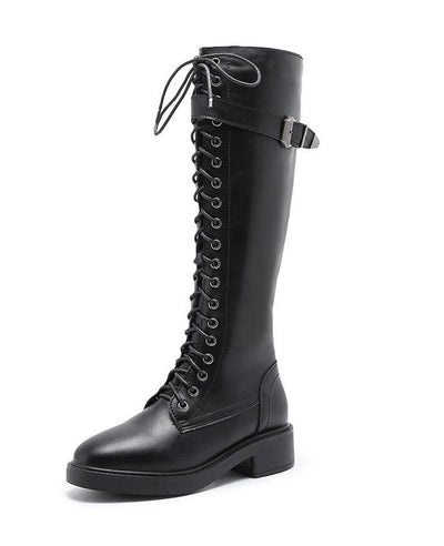 Lace Up Ridding Boots for Women-7