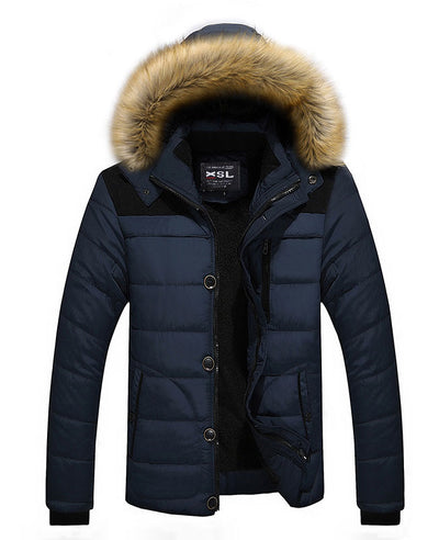 Men Warm Down Padded Jacket-2