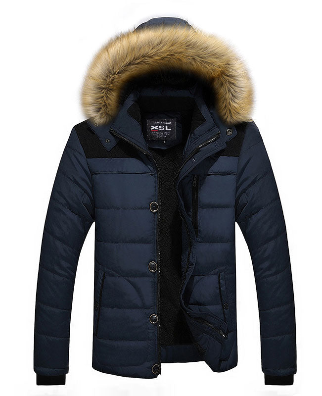 Men Warm Down Padded Jacket
