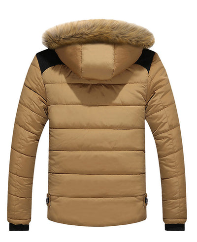 Men Warm Down Padded Jacket-4