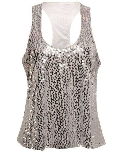 Sexy Shining Sequins Tank Tops-10
