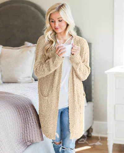 Soft Chunky Sweater Cardigan