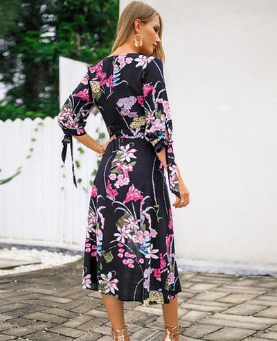 A versatile floral maxi dress will always add effortless style to your wardorbe, pick your favorite one and add to cart now.