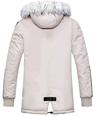 Warm Padded Mens Down Parka-5