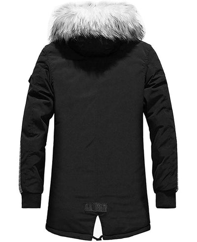 Warm Padded Mens Down Parka-6